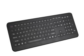 China Cleanable medical keyboards with integrated numeric keypad 12 FN keys supplier
