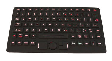 China USB Desktop Silicone Industrial Keyboard supplier