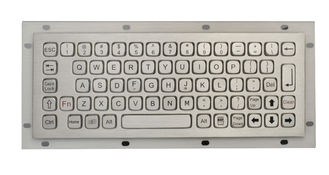China IP67 Vandal Proof  Rear Panel Mount Keyboard Rugged Keyboard for Outdoor Computer no Numeric Keys supplier