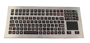 China 116 Keys Washable Industrial Keyboard With Touchpad Adjustable Backlight supplier