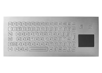 China Washable Kiosk Industrial Keyboard With Touchpad Integrated 83 Keys IP67 5V DC supplier