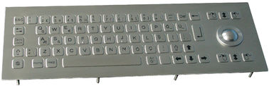 China IP65 Waterproof Compact Stainless Steel Keyboards with Trackball Rugged  for Industrial Kiosk outdoor supplier