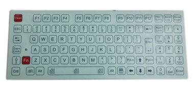 Panel Mounting Water Resistant Industrial Membrane Keyboard With Numeric Keypad and Function Key