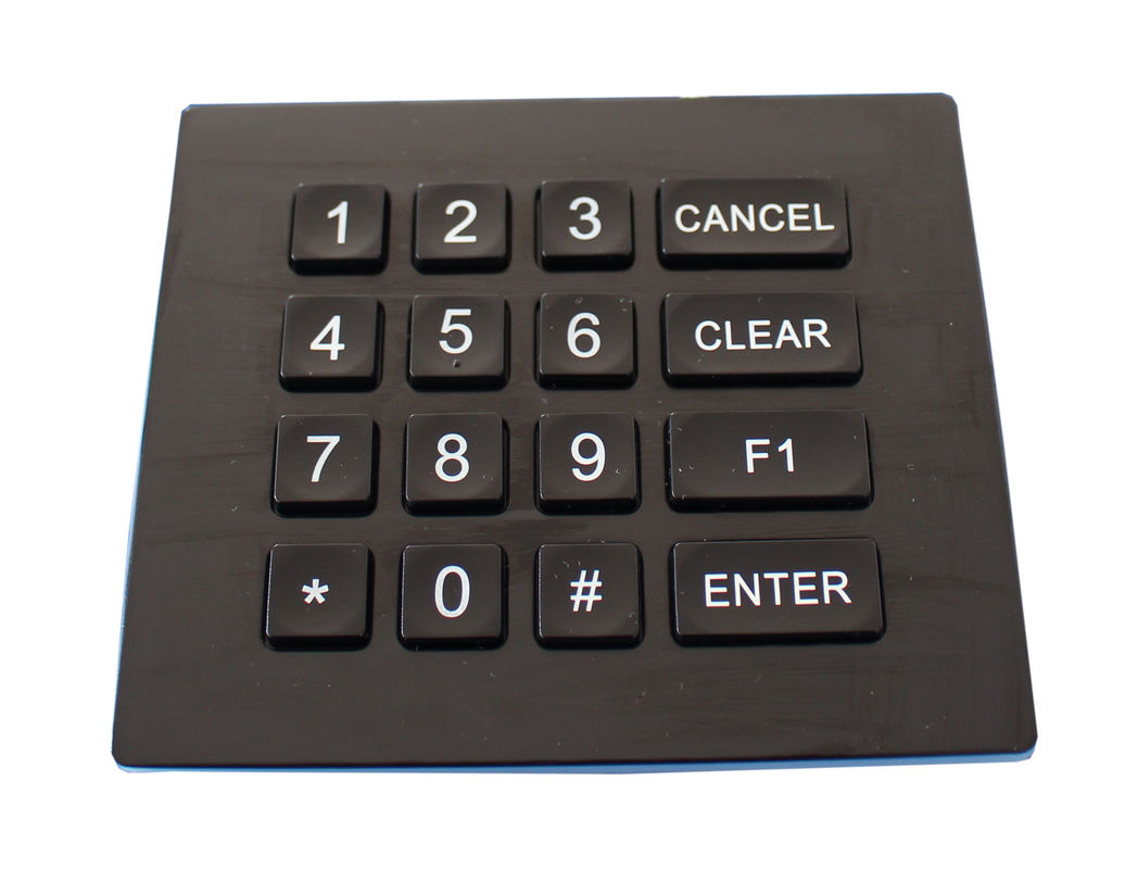 Ip66 Dynamic Waterproof Backlight Door Entry Keypad With Usb Or Ps