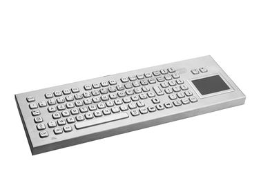 China Ip65 Metal Rugged Keyboard With Touchpad And Full Functionalities factory