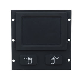 Ip65 Weatherproof  Balck Rubber Industrial Touchpad Rear Panel Mounting