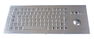 Top Panel Explosion Proof  Industrial Keyboard With Trackball  , 38mm Mechanical