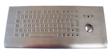 China 82 key wall mounting flat design metal kiosk keyboard with FN key and touchpad factory