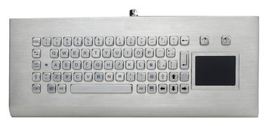China 68 Keys Kiosk Keyboard With Sealed Touchpad factory