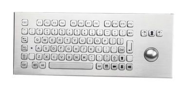 Dust Proof Stainless Steel Keyboard SS Vandal Resistant Keyboard