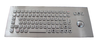 IP67 Industrial Metal Keyboard And 84 Keys USB Outdoor Brushed Stainless Keyboard