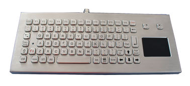 Mechanical USB Metal Industrial Keyboard With Touchpad / Ruggedized Keyboard
