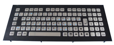 IP65 vandal proof stainless steel industrial keyboard 95 keys compact format