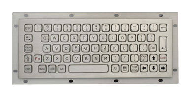 IP67 Vandal Proof  Rear Panel Mount Keyboard Rugged Keyboard for Outdoor Computer no Numeric Keys