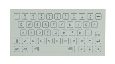 Dust / Oil proof membrane panel mount keyboard white or black color
