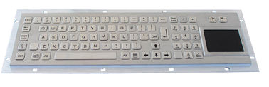 Panel mount keyboard , Industrial Keyboard With Touchpad for information kiosk