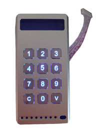 4 x 3 Customizable Backlit Metal Keypad With Aluminium Die Casting Case