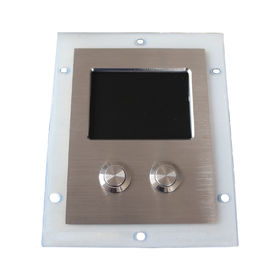 Ruggedized Tough Touchpad Pointing Device Stainless Steel Mouse Buttons