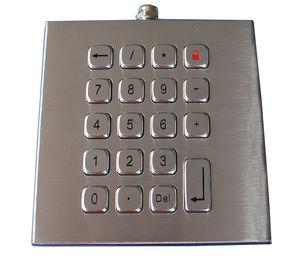 Weatherproof 19 Keys Access Control Keypad , Customizable Industrial Keypad