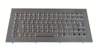China Dust Proof 81 Keys Industrial Computer Keyboard With Long Use Life Time factory