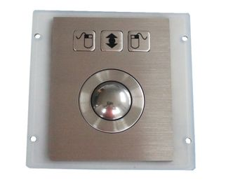 Vandal Resistant High 800 Dpi Optical Trackball Pointing Device Stainless Steel Long Use Life