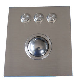 IP68 washable 38.0mm optical Trackball Pointing Device at 800 DPI resolutions