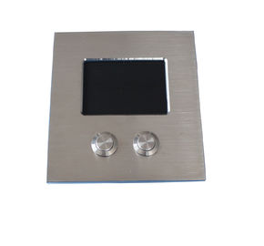 IP67 Dynamic Sealed Tough Rugged Touchpad Stainless Steel For Top Panel Mounting