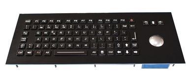 85 keys compact format Industrial Keyboard With Trackball polymer Actuator