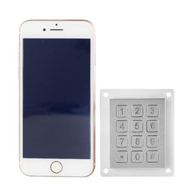 China 12 keys compact format IP67 vandal proof stainless steel industrial Numeric keypad factory