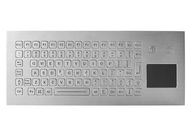 Washable Kiosk Industrial Keyboard With Touchpad Integrated 83 Keys IP67 5V DC