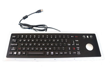 China Black IP67 Dynamic Usb Mechanical Keyboard 76 Keys With 38mm Trackball Mouse factory