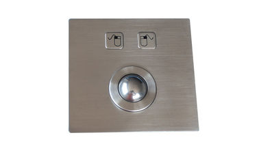 China Stainless Steel Optical Trackball Pointing Device IP67 Waterproof 0.45mm Key Travel factory