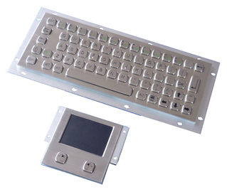China Vandal proof industial keyboard integrate touchpad pointing device USB or PS/2 interface distributor