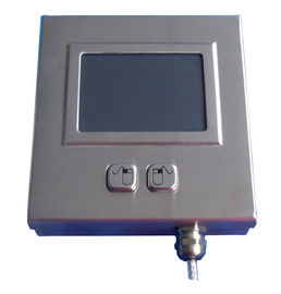 Weather proof metal movable Industrial Touchpad with 2 mouse buttons for railway