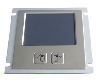 PS/2 brushed SS medical  industrial touchpad with metal dome mouse buttons