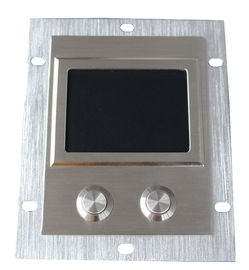 IP65 high sensitive industrial 304 steel touchpad with 2 short stroke key buttons