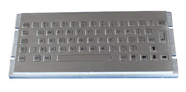 China Corrosion resistant Stainless Steel Keyboard / metallic keyboard for airport factory