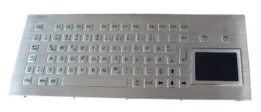 China Ruggedized Stainless Steel explosion proof keyboard for kiosk  PS2 or USB distributor