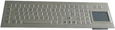81 Keys Industrial Keyboard With Touchpad Laser Engraved Graphics PS/2 Or USB Interface