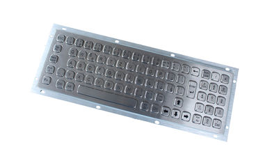 China 79 keys mini stainless steel metal kiosk keyboard with numeric keypad factory