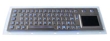 Metal Backlit USB Keyboard / Backlit Mechanical Keyboard With Ruggedized Touchpad