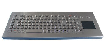 Washable Vandal Proof Industrial Keyboard with Touchpad and Desk Top in IP68 Waterproof Standard for outdoors