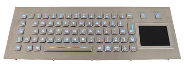 70 Keys Rugged Backlit USB Keyboard With Touchpad Kiosk Keyboard