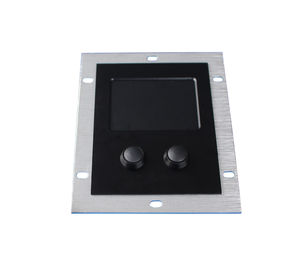 Rear panel mount  industrial sealed touchpad pointing device with 2 mouse buttons