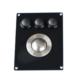 IP65 Stainless steel Industrial pointing device rugged trackball Mechanical