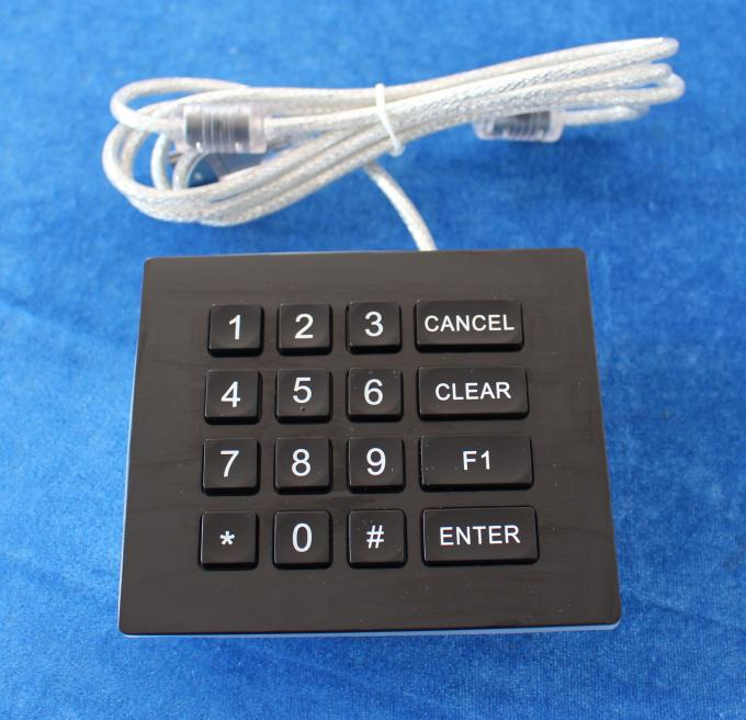 Ip66 Dynamic Waterproof Backlight Door Entry Keypad With Usb Or Ps / 2 Port