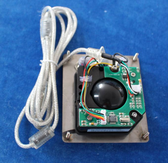 IP65 50 Mm Mechanical Resin Military Trackball With USB Interface